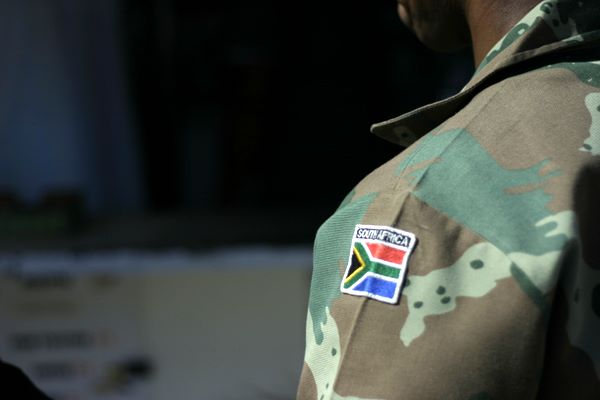 South Africa on camo